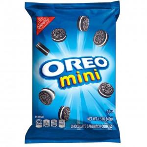 Mini Oreo Chocolate Sandwich Cookies 42g