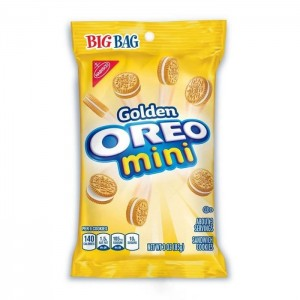 Mini Oreo Gold Sandwich Cookies 42g