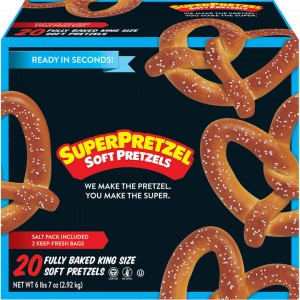 Pretzels Blandos SuperPretzel