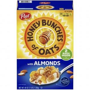 Cereal Honey Bunches con Almendras 1.36kg