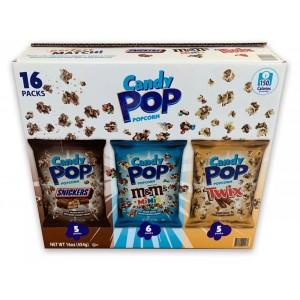 Pack cabritas de maíz Candy Pop, 16 uni