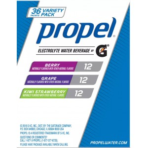 Pack variado de Propel Zero, 36 uni
