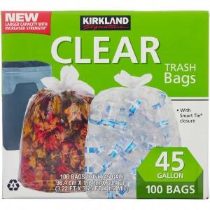 Bolsas de Basura Transparentes Kirkland