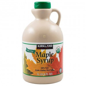 Jarabe de Maple, Kirkland Signature 1 Lt