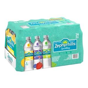 Agua Mineral Zephyrhills Caja Variedad 24 uni