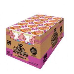 Sopa de Fideos con Camarones Nissin Cup Caja 30 uni