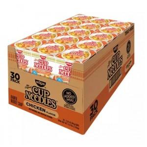 Sopa Fideos con Pollo Nissin Caja 30 uni
