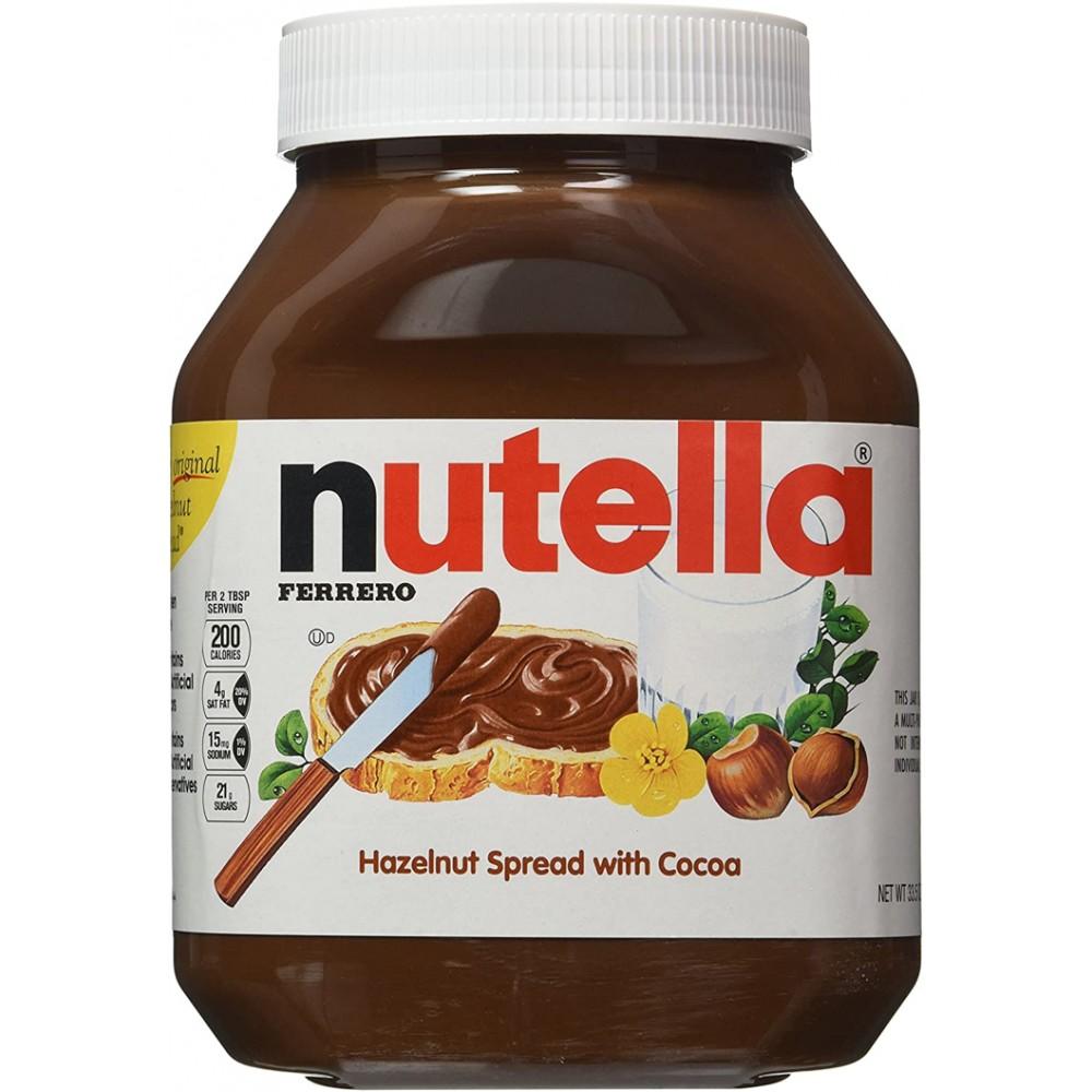 Crema de cacao y avellanas Nutella, 950gr