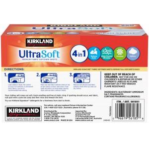 Pack Suavizante de Telas para Secadora con aroma Kirkland
