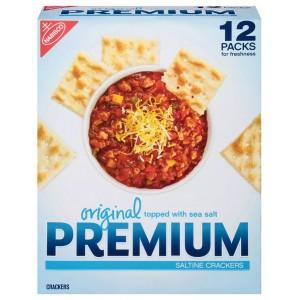 Galletas saladas Original Premium 12 paquetes