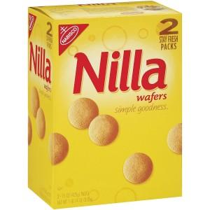 Galletas de Oblea Nilla sabor Vainilla