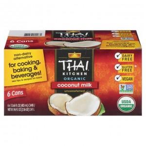 Leche de Coco Thai Kitchen Caja 6 uni