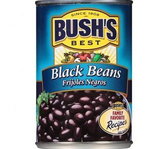 Pack Porotos negros Bush's 6 unidades