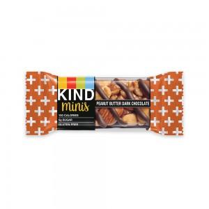 Kind Mini barra de mantequilla de maní y chocolate amargo