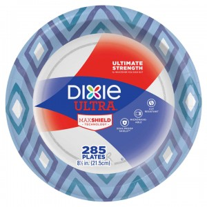 Plato de Papel Dixie Ultra