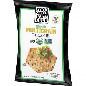 Tortilla Chips Multigrano Food Should Taste Good