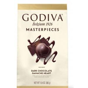 Chocolate Negro Godiva Corazones