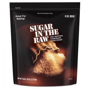 Azúcar morena turbinada Sugar in the Raw