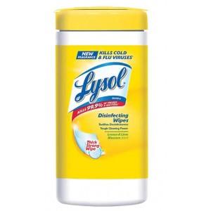 Toallitas Desinfectantes Lysol Lima-Limón