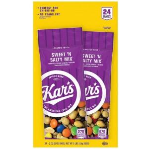 Frutos Secos Dulces y Salados Kar's Caja 24 uni