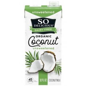 Leche Orgánica de Coco So Delicious 946Ml