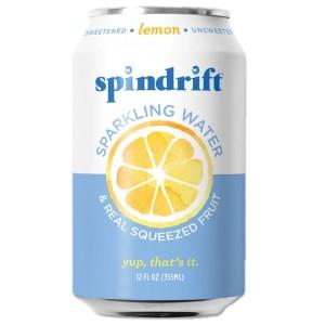Agua Mineral Spindrift - Limón