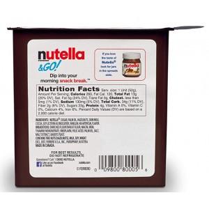 Palitos de Pan con Nutella
