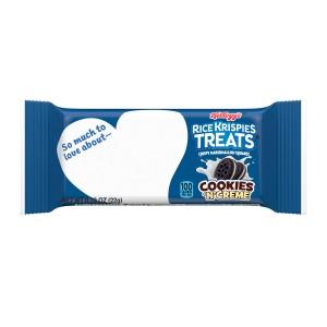 Kellogg's Barritas Cookies 'n' Creme Rice Krispies Treats 22 Gr