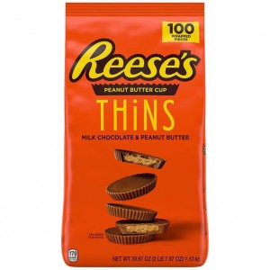 Chocolate Reese's Cup Thins