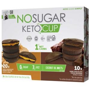 Taza de Chocolate Keto Caja Variedad 30 uni