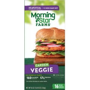Hamburguesa de Verduras Morning Star Farms