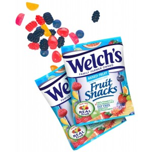 Welch's Gomitas Fruit Snacks Mixed Fruit 22.7 Gr