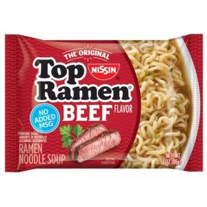 Sopa Fideos Carne Ramen Nissin