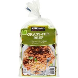 Carne Molida Grass-Fed Vacuno Kirkland