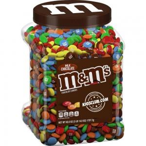 M&M's de Chocolate en Tarro