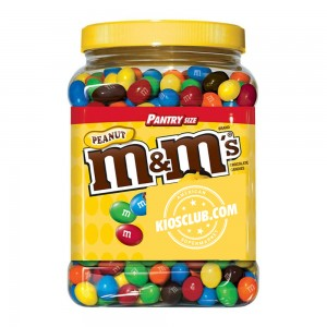 M&M's de Maní en Tarro