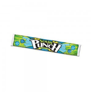Masticable Sour Punch Frambuesa Azul