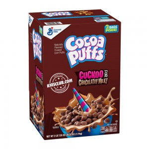 Cereal Cocoa Puffs General Mills