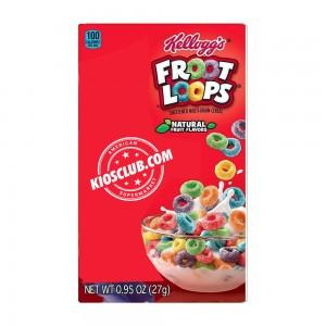 Cereal Froot Loops Kellogg's Mini