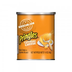 Papas Fritas Pringles Queso Cheddar