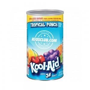 Kool-Aid Mezcla de bebida sabor ponche tropical