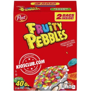 Cereal Fruity Pebbles Post