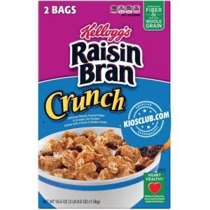 Cereal con Pasas Raisin Bran Crunch Kellogg's