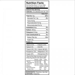 Pistachos Salados sin cascara Kirkland * 680 grs