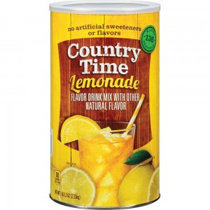 Mezcla de Limonada, Country Time