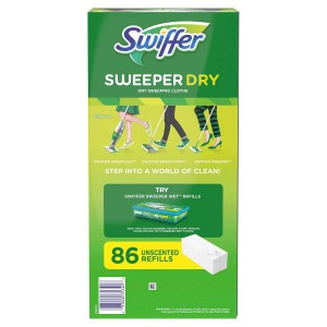 Paños de Limpieza Swiffer Sweeper DRY