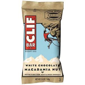 Barritas De Avena Clif Bar Chocochip y Chocolate Blanco con Nueces Macademia