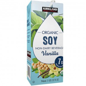 Bebida Orgánica de Soya Kirkland Sabor a Vainilla
