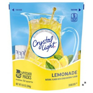 Limonada En Polvo, Crystal Light