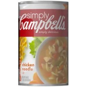 Sopa De Pollo Con Fideos, Campbell'S 8/533 Gr